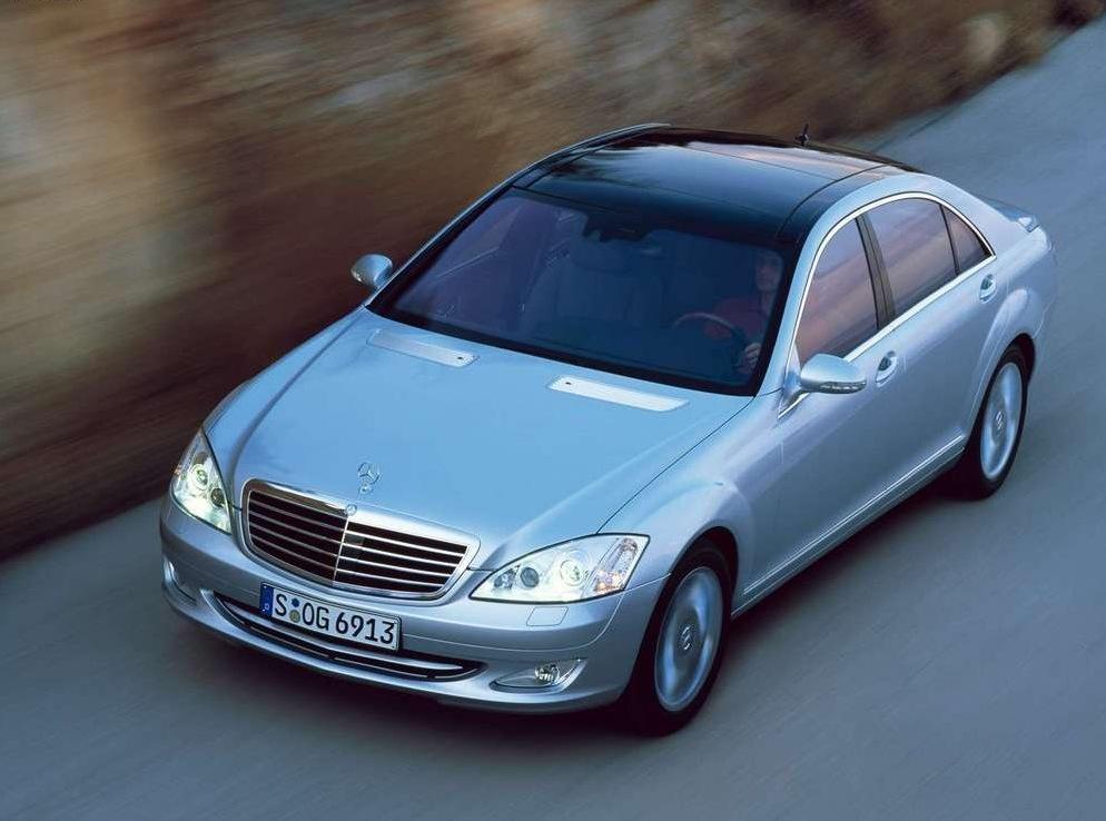 Снимки: Mercedes-benz S-klasse (W221)