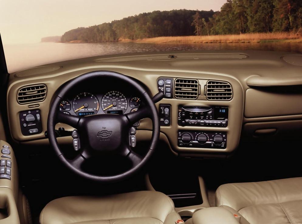 Снимки: Chevrolet Blazer I