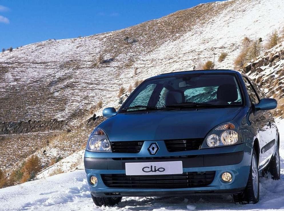 Снимки: Renault Clio II (B/C/SB0)