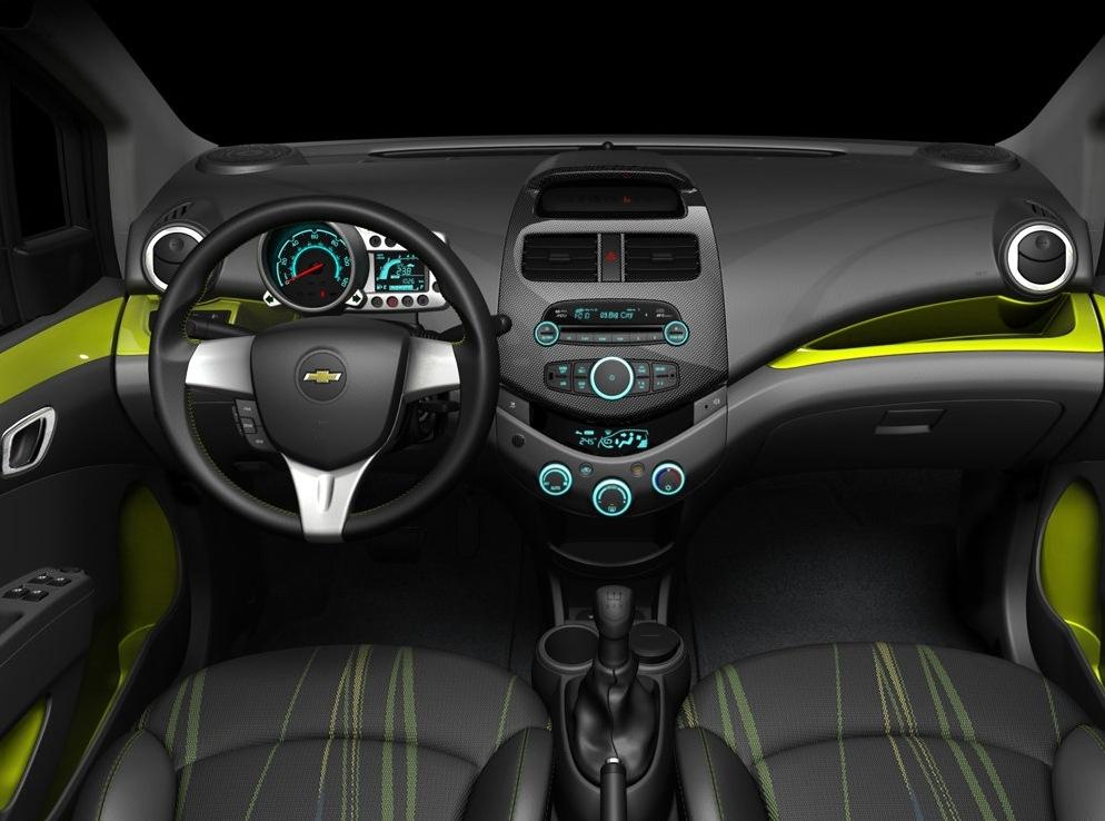 Снимки: Chevrolet Spark 2009