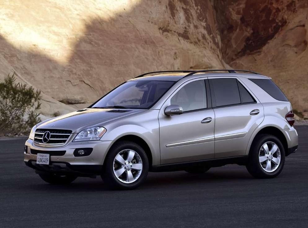Снимки: Mercedes-benz ML-klasse (W164)