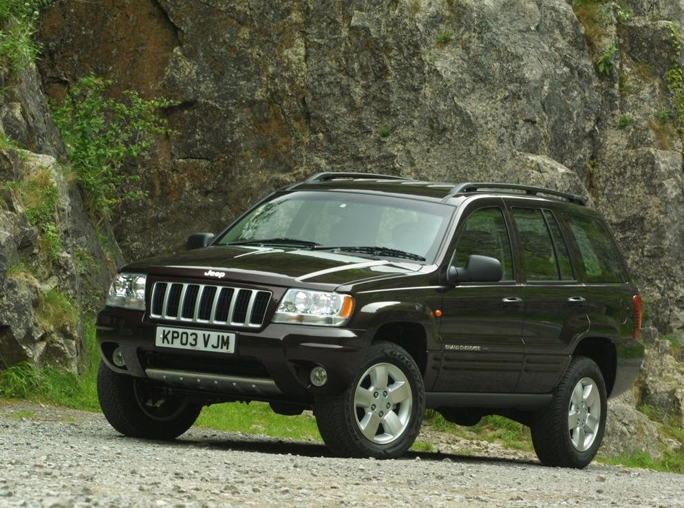 Снимки: Jeep Grand Cherokee II (WJ)