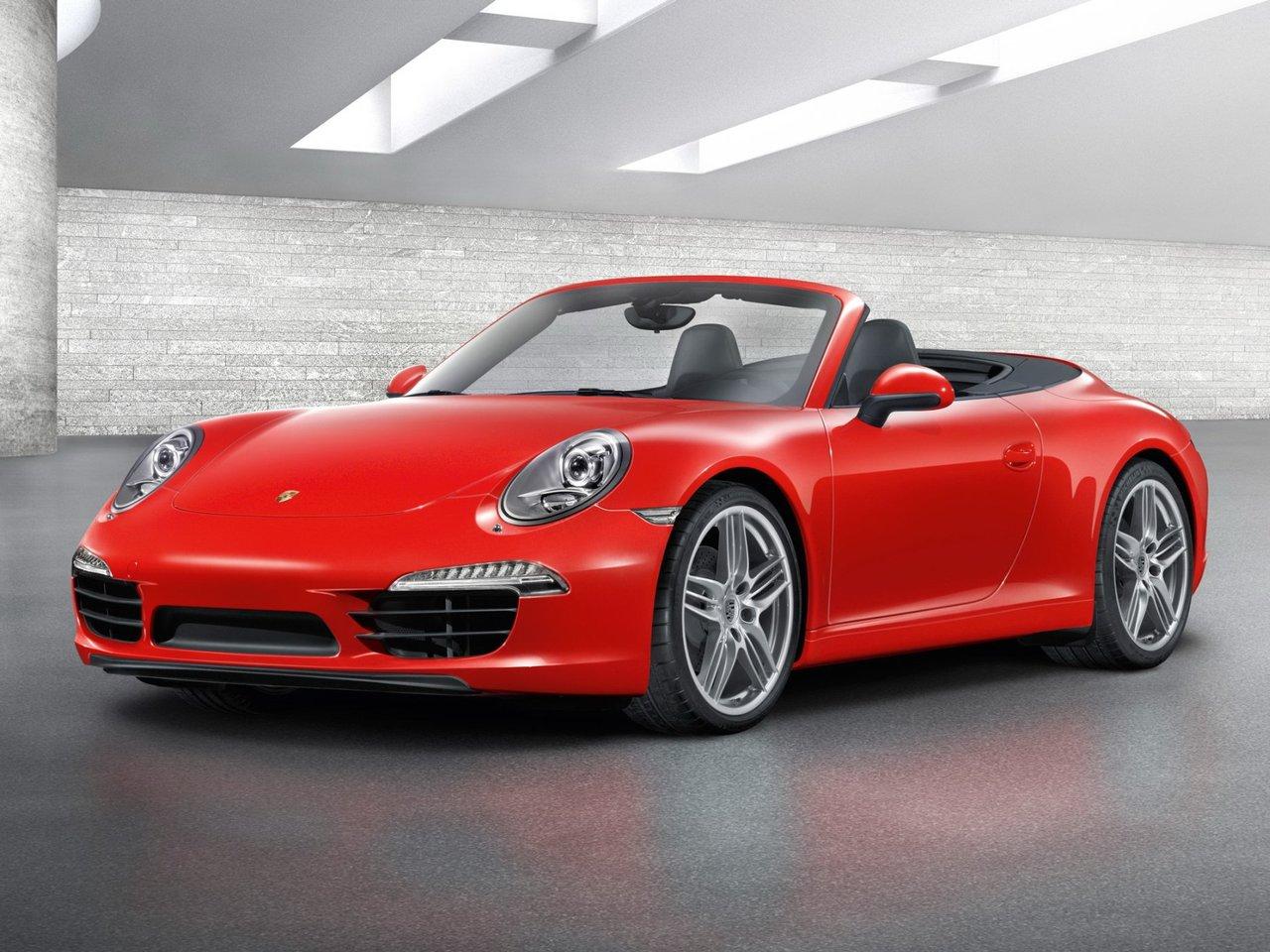 Снимки: Porsche 911 Cabrio (991)