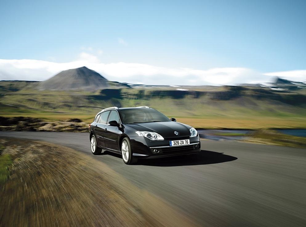 Снимки: Renault Laguna Grandtour 3