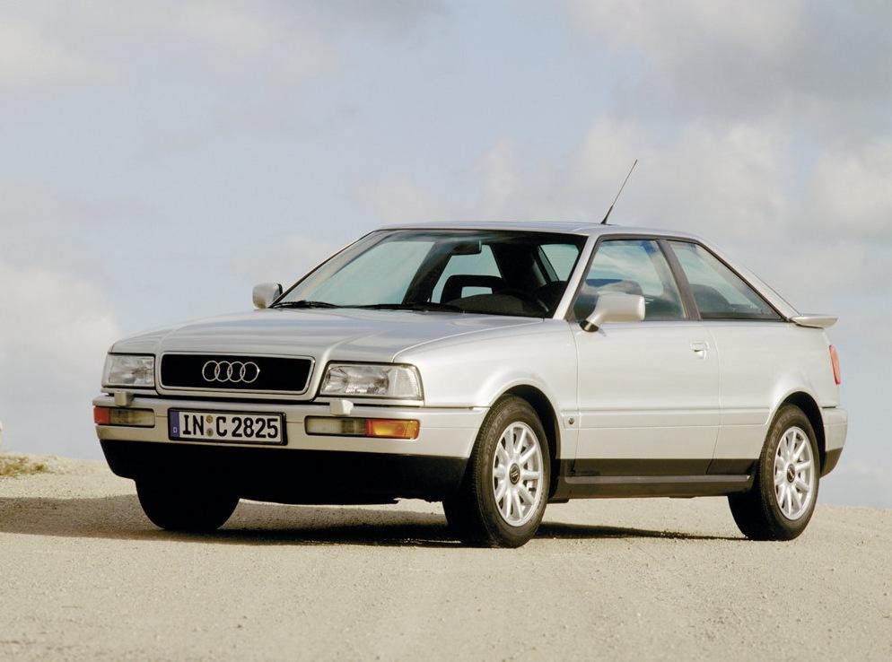 Снимки: Audi Coupe (89,8B)
