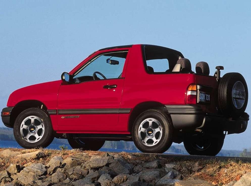 Снимки: Chevrolet Tracker