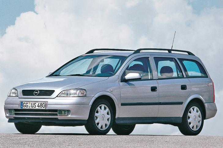 Снимки: Opel Astra G Caravan