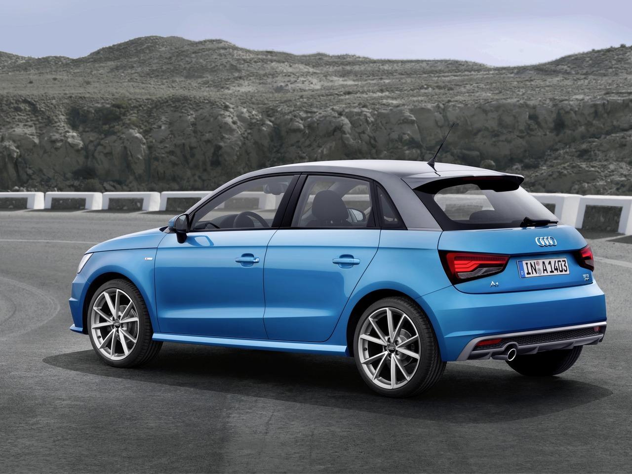 Снимки: Audi A1 Facelift