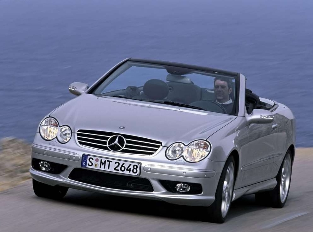 Снимки: Mercedes-benz CLK Cabriolet (W209)