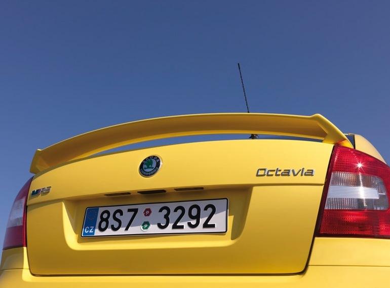 Снимки: Skoda Octavia RS 2009