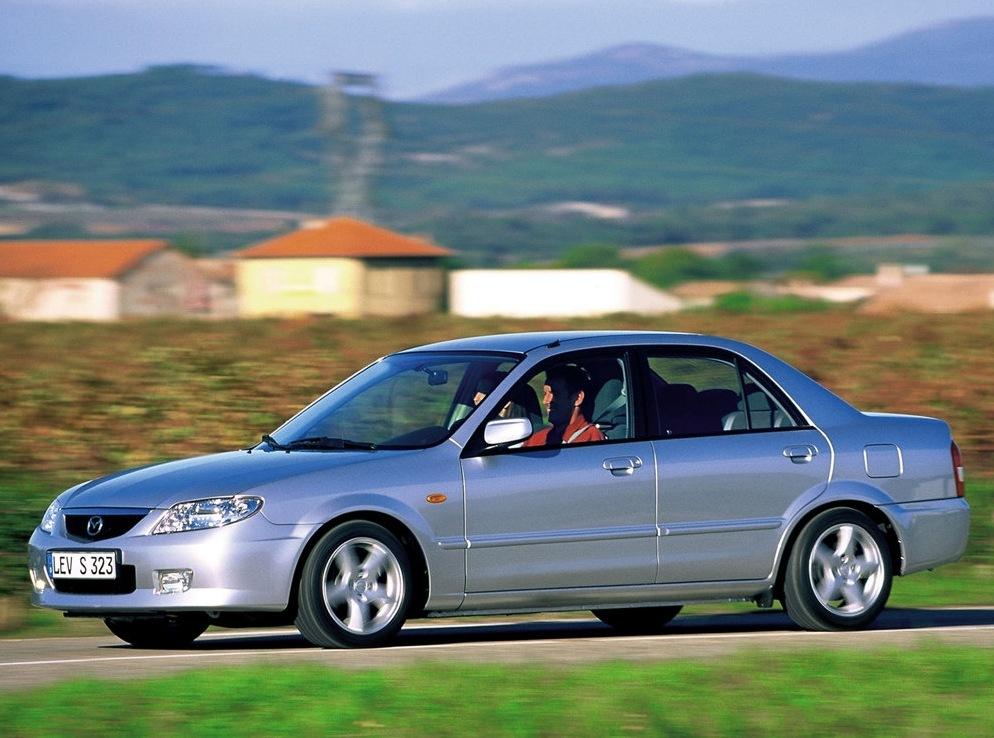 Снимки: Mazda 323 S VI (BJ)