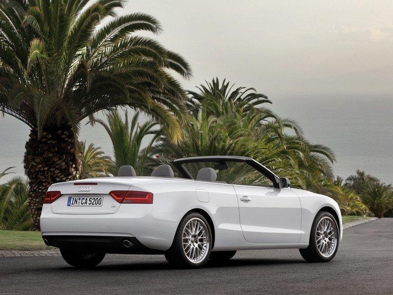 Снимки: Audi A5 Cabrio Facelift 2011