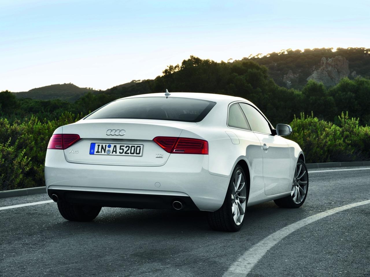 Снимки: Audi A5 Facelift 2011
