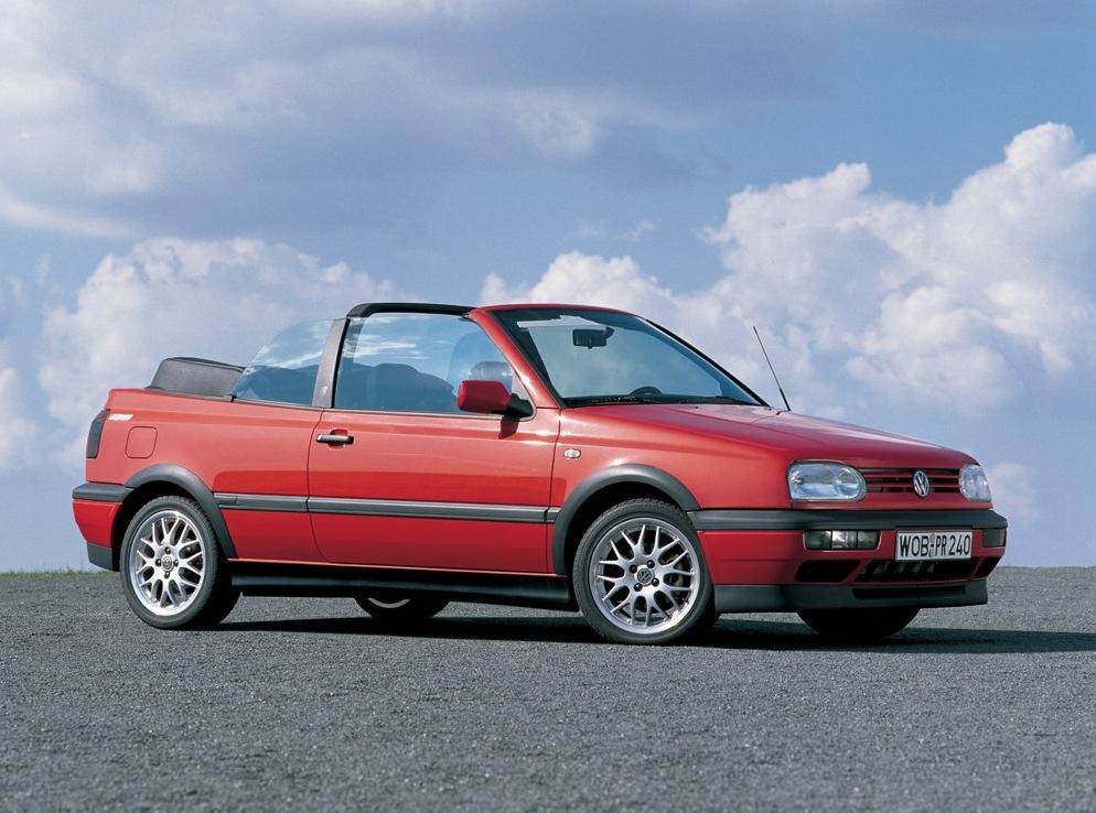 Снимки: Volkswagen Golf 3 Cabrio(1E)