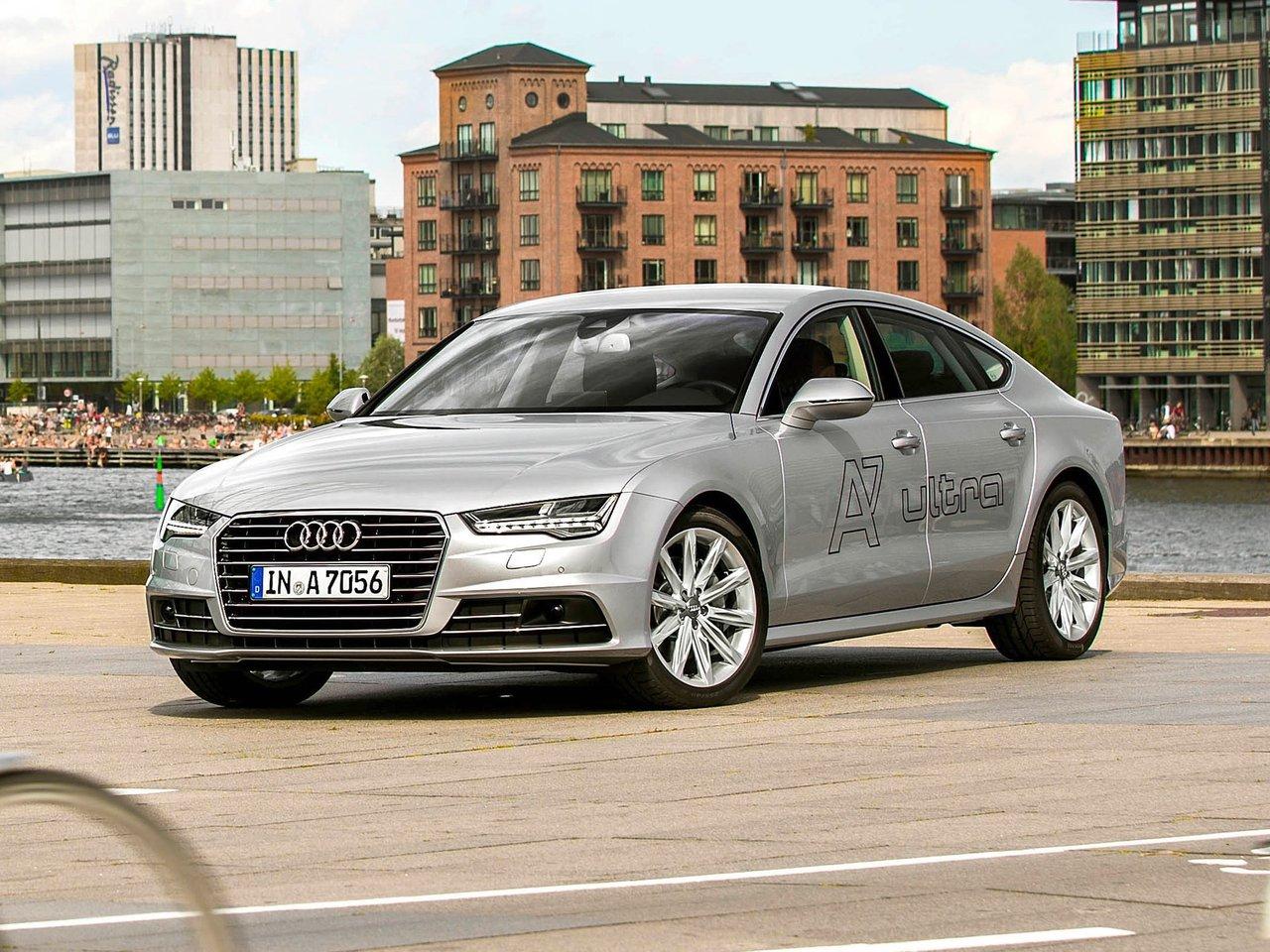 Снимки: Audi A7 Facelift