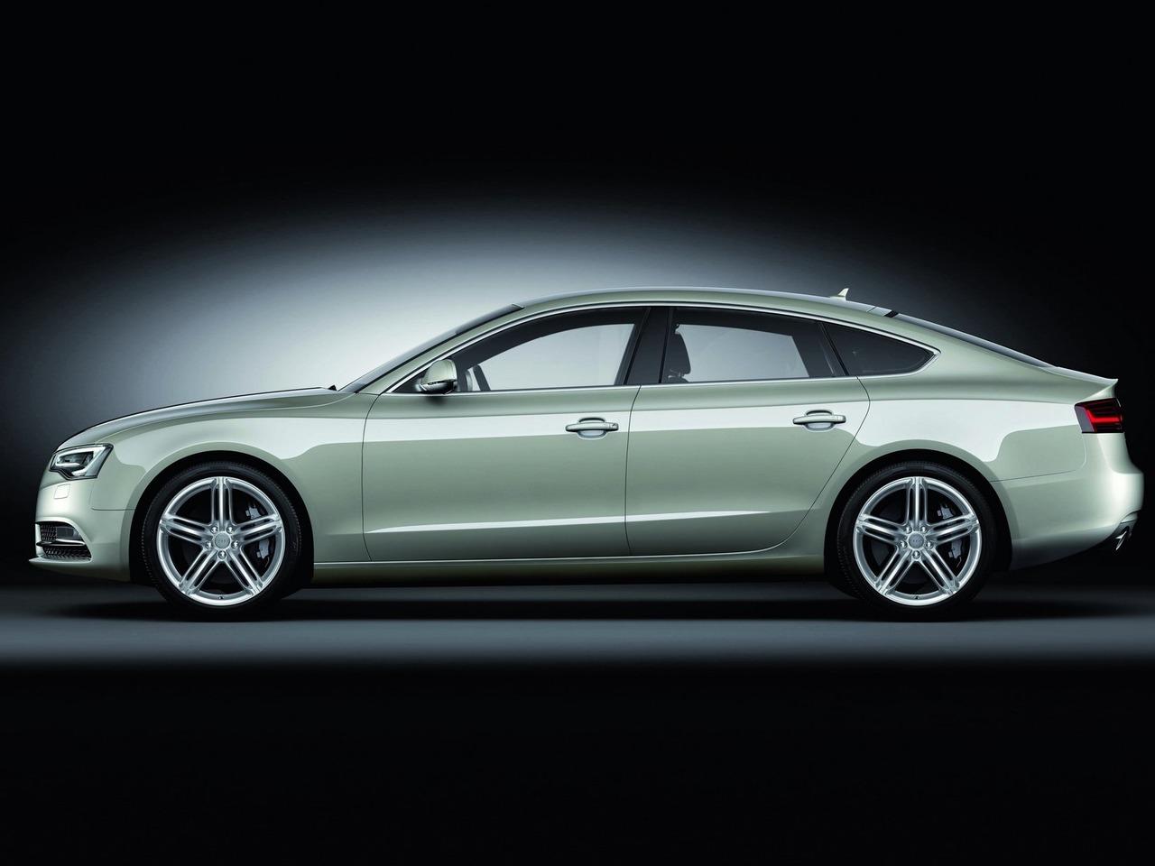 Снимки: Audi A5 Sportback Facelift 2011