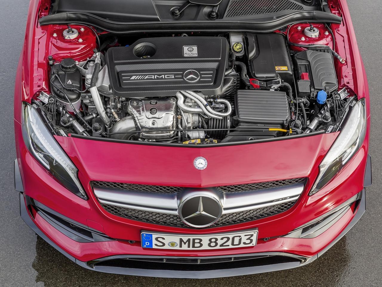 Снимки: Mercedes-benz A-klasse AMG