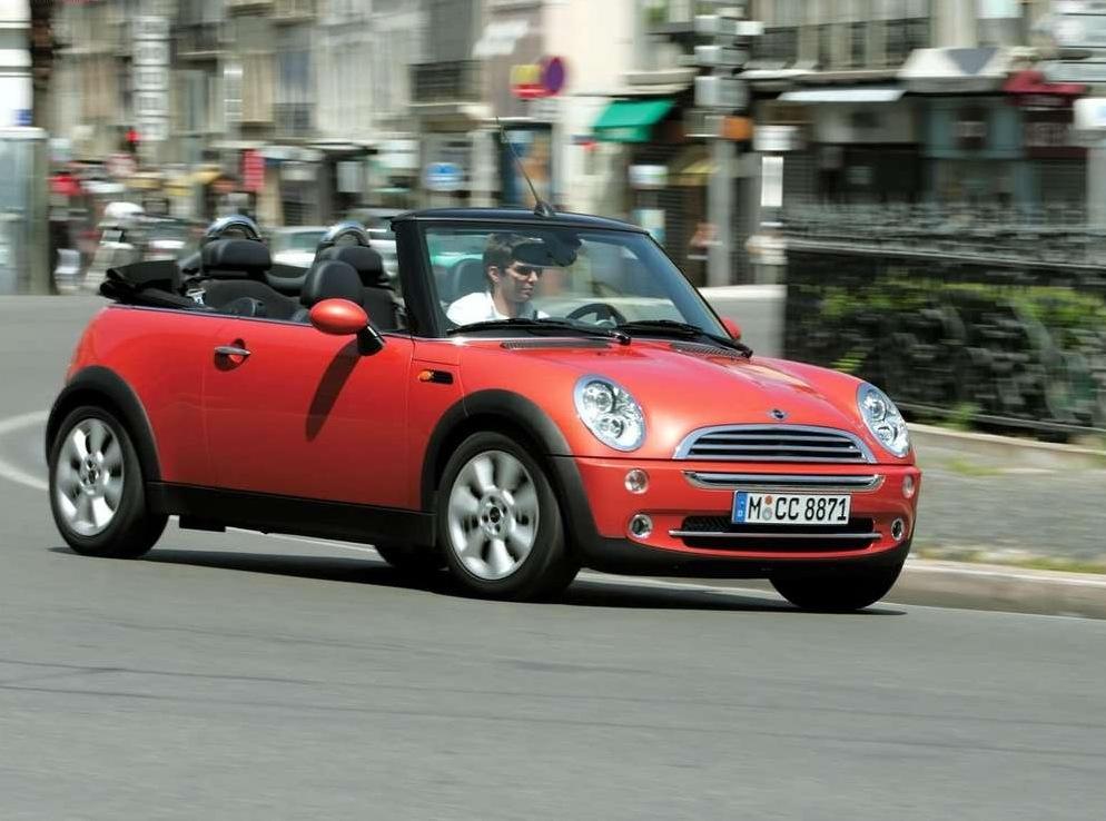 Снимки: Mini Cooper Cabrio
