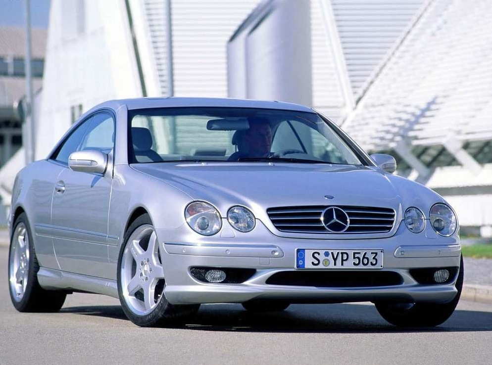 Снимки: Mercedes-benz CL-Klasse (W215)