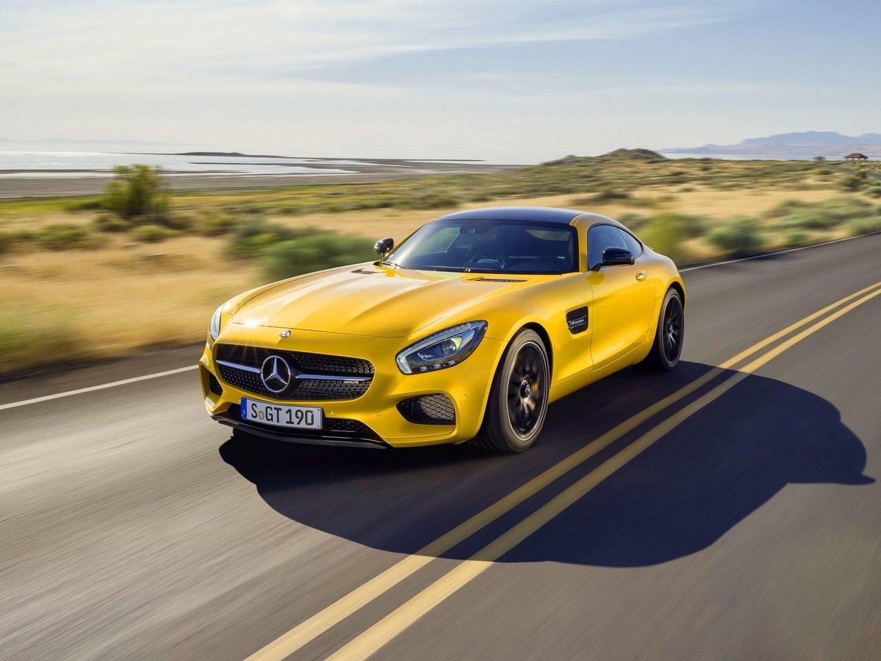 Снимки: Mercedes-benz AMG GT