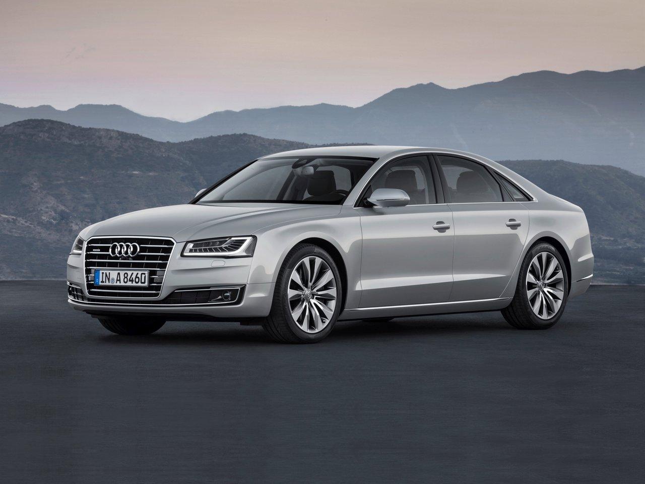 Снимки: Audi A8 (D4) Facelift