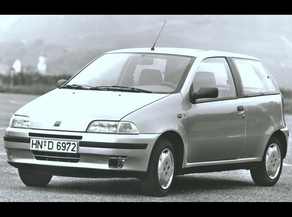 Снимки: Fiat Punto I (176)
