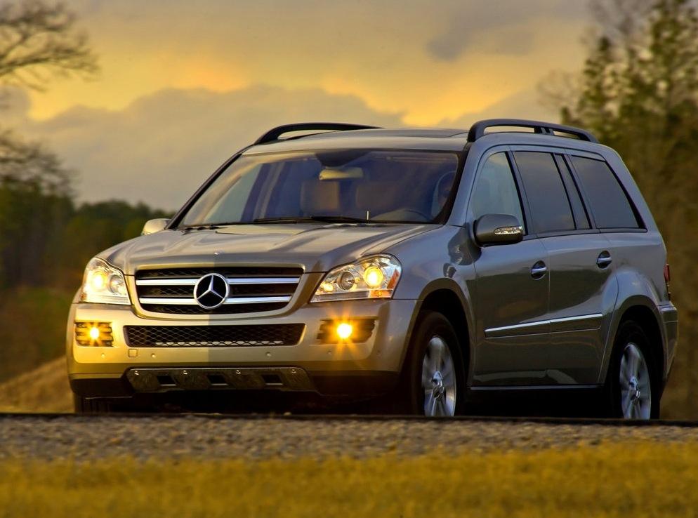 Снимки: Mercedes-benz GL (X164)