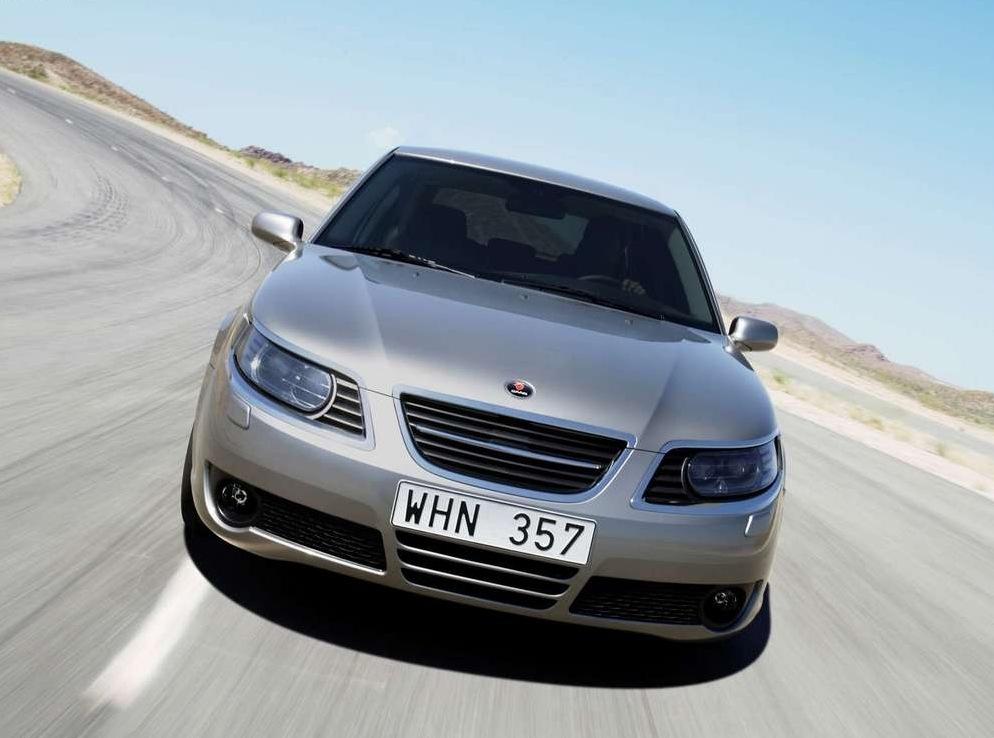 Снимки: Saab 9-5