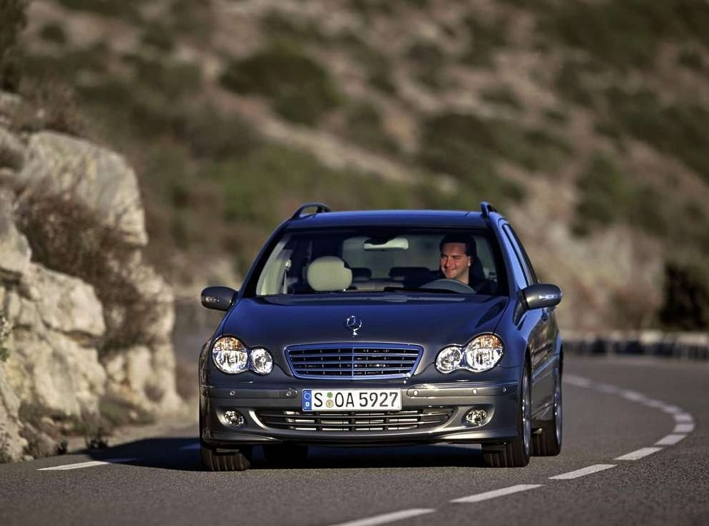Снимки: Mercedes-benz C-klasse T-mod (S203)