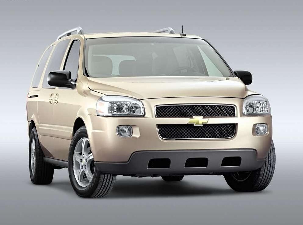Снимки: Chevrolet Uplander
