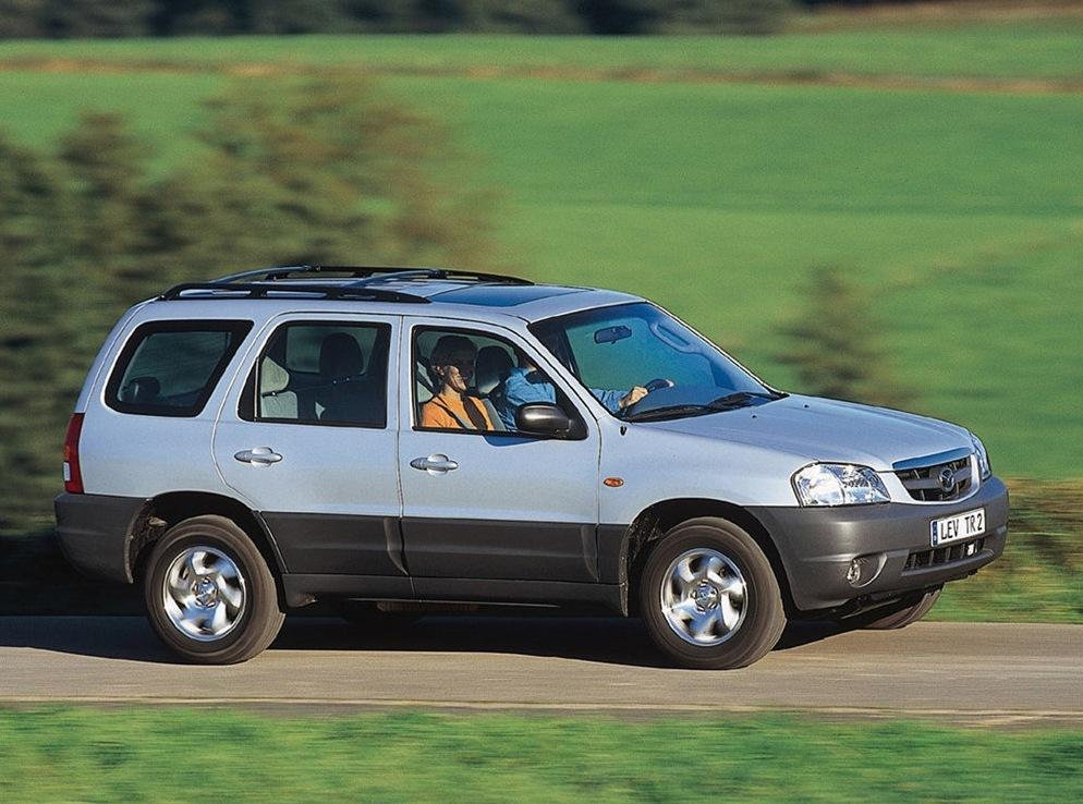 Снимки: Mazda Tribute