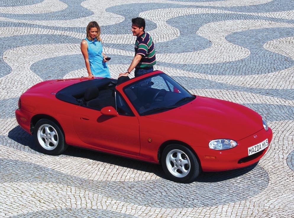 Снимки: Mazda Mx-5 II (NB)
