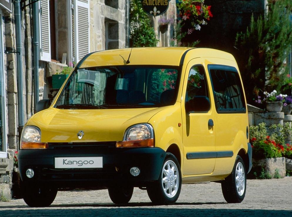 Снимки: Renault Kangoo Passenger (KC)