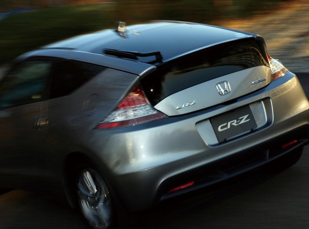 Снимки: Honda CR-Z