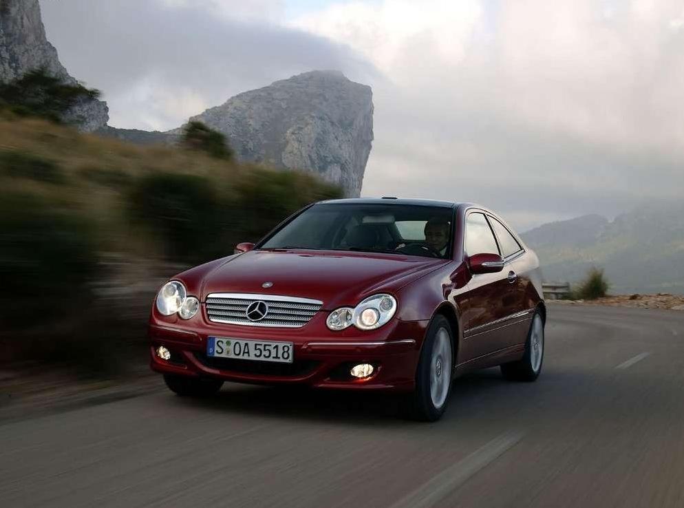 Снимки: Mercedes-benz C-klasse Sport Coupe (203)