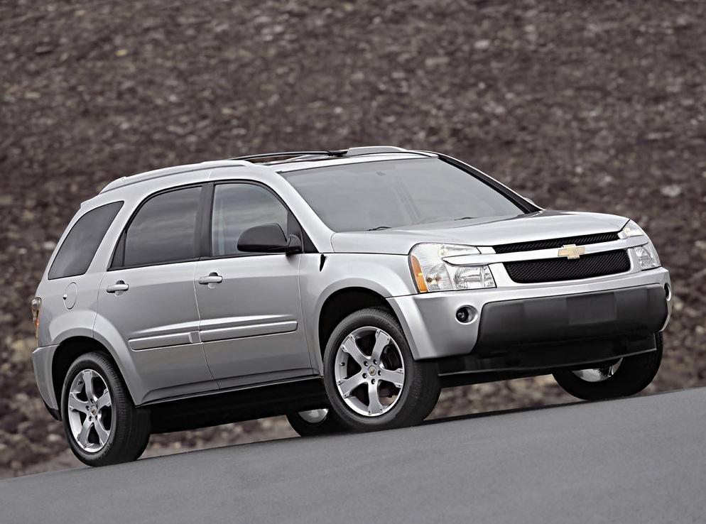 Снимки: Chevrolet Equinox