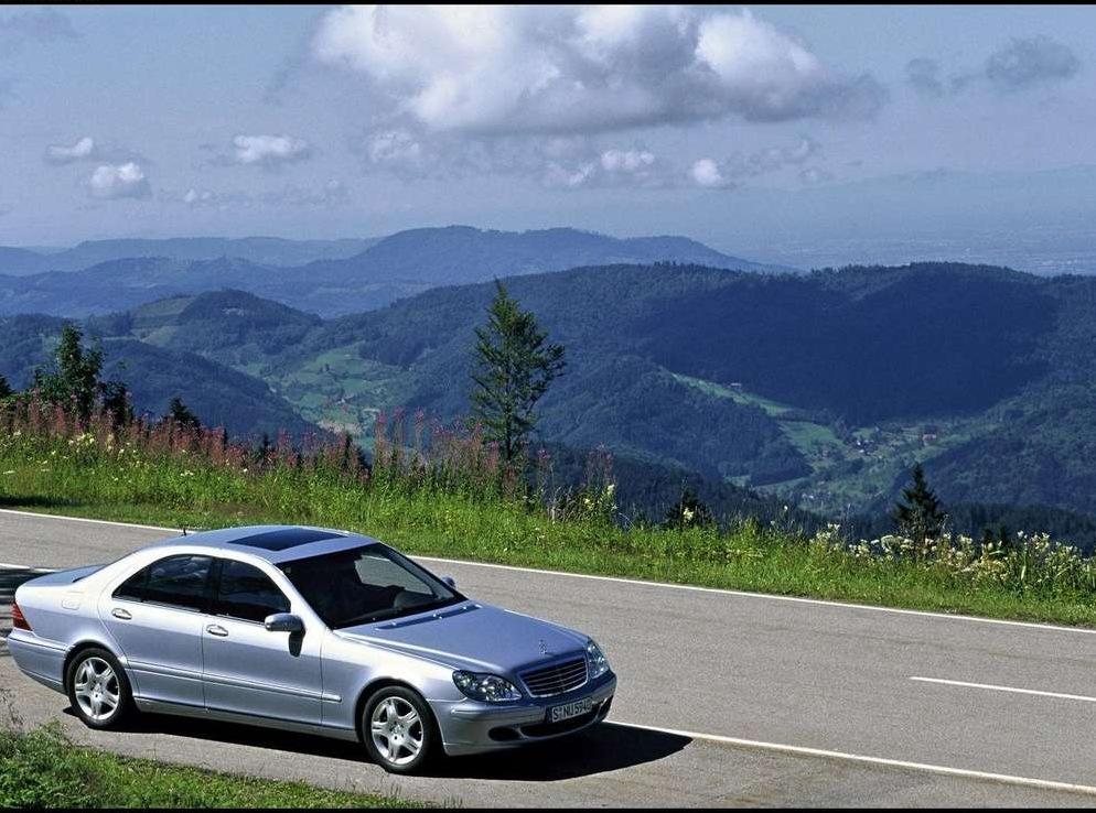 Снимки: Mercedes-benz S-klasse (W220)
