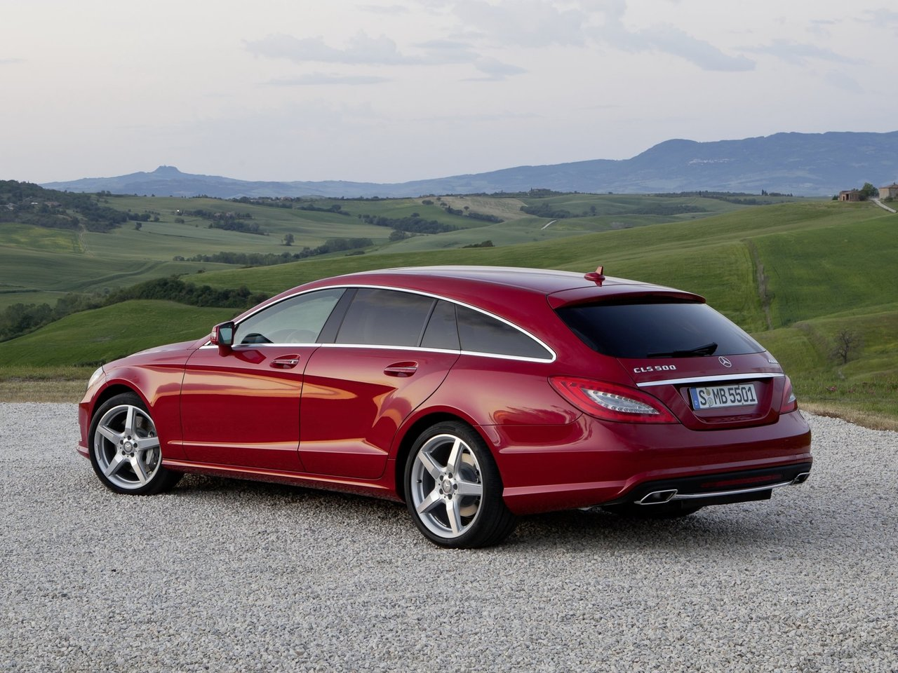 Снимки: Mercedes-benz CLS Shooting Brake (X218)