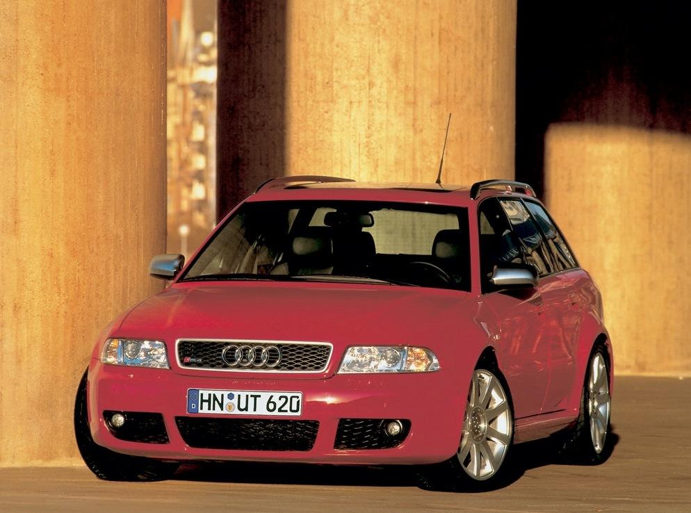 Снимки: Audi RS4 Avant