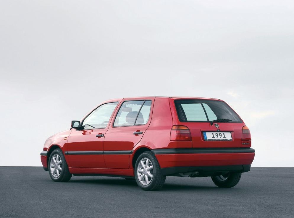 Снимки: Volkswagen Golf 3 (1HX)