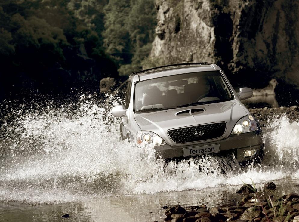 Снимки: Hyundai Terracan