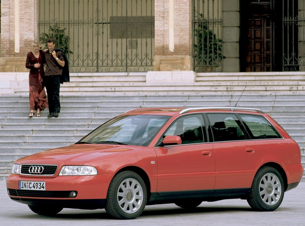 Снимки: Audi A4 Avant (B5-8D)