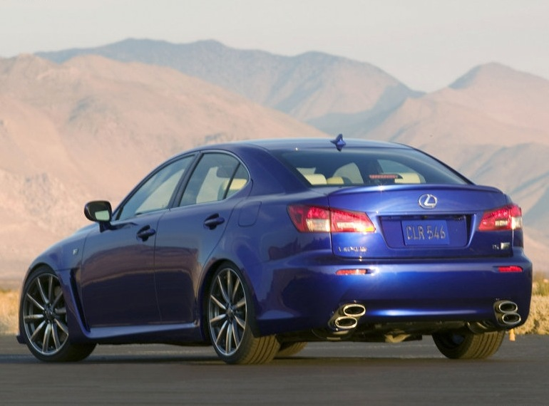Снимки: Lexus IS-F