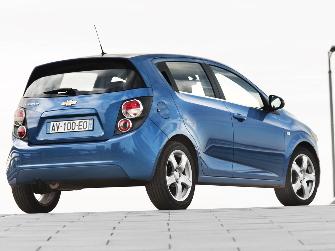 Снимки: Chevrolet Aveo 2 Hatchback