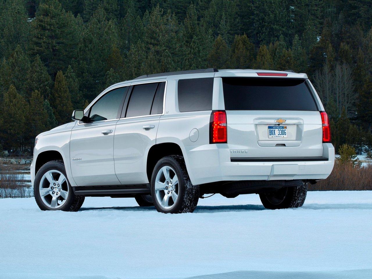 Снимки: Chevrolet Tahoe IV