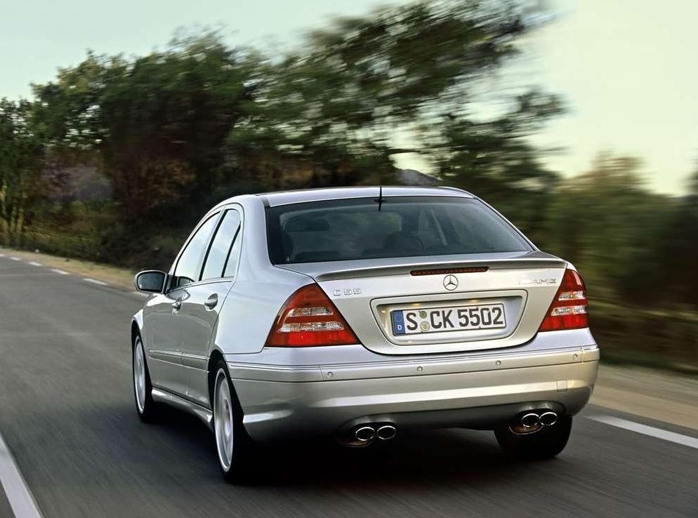 Снимки: Mercedes-benz C AMG (W203)
