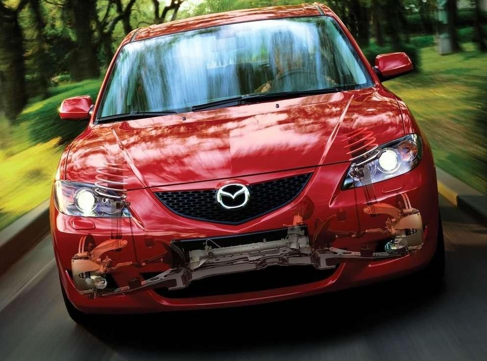 Снимки: Mazda Mazda 3 Saloon - 2003