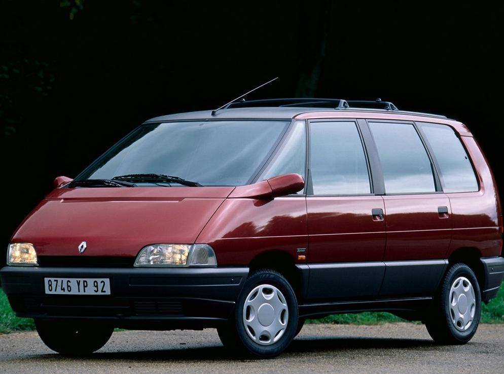 Снимки: Renault Espace 2 (J63)