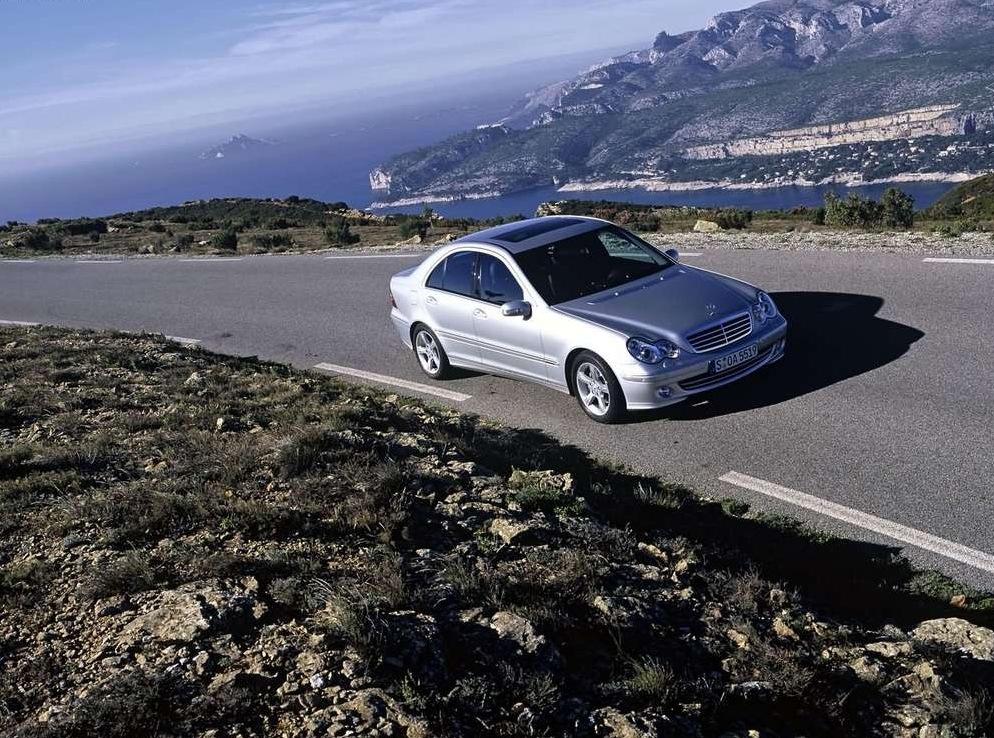 Снимки: Mercedes-benz C-klasse (W203)