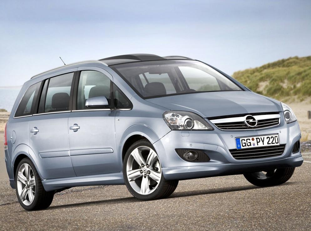 Снимки: Opel Zafira B